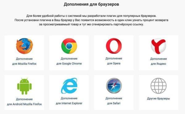 Плагины и расширения для браузера