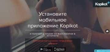 Мобильное приложение Копикот