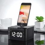 Будильник с зарядным устройством для смартфона алиэкспресс