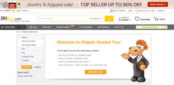 dhgate.com страница новичка