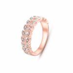 Кольцо с кристаллами на алиэкспресс