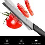 Набор кухонных ножей с овощечисткой