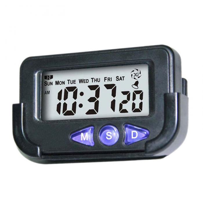 Портативный карманный цифровой электронный будильник