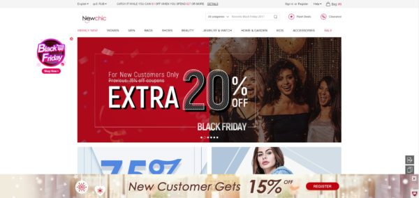Newchic - китайский интернет-магазин одежды и аксессуаров