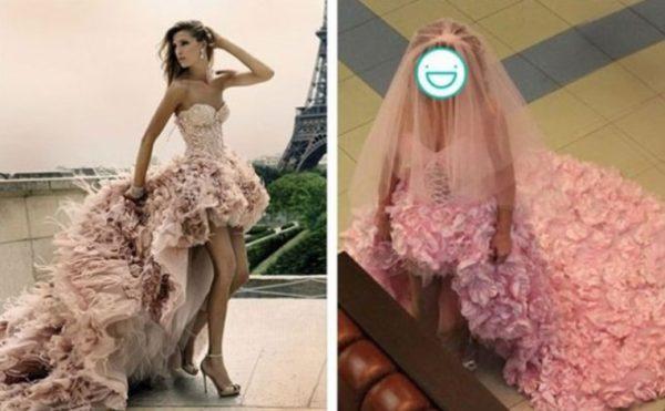 Свадебное платье с алиэкспресс: ожидание и реальность