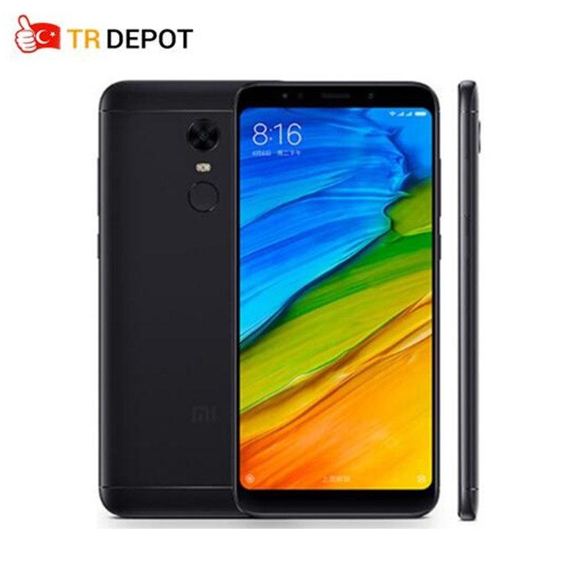 Европейские Встроенная память Xiaomi Redmi 5 плюс 5,99 ''4 ГБ 64 ГБ Snapdragon 625 Процессор смартфон с FHD + 18:9 полный Экран 4000 мАч MIUI 9,2 Android 7,1