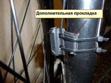 как закрепить датчик на велосипеде
