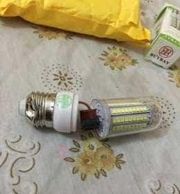 лед лампа внутри