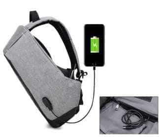 рюкзак для школы с зарядным устройством