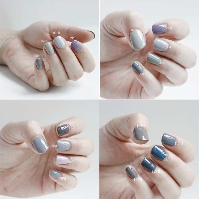Цвет лака который удлиняет ногти