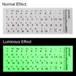 светящиеся Защитные наклейки на клавиатуру